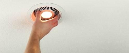 Plaatsen van LED verlichting